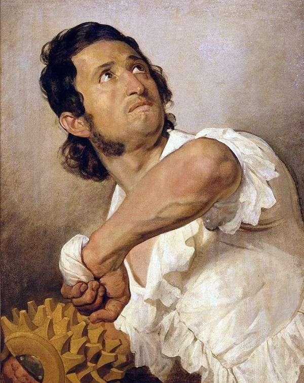 多梅尼科马里尼的肖像   卡尔布鲁洛夫