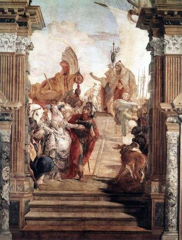 安东尼和克利奥帕特拉的会面   Giovanni Battista Tiepolo