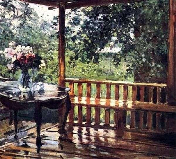雨后(湿露台)   亚历山大格拉西莫夫