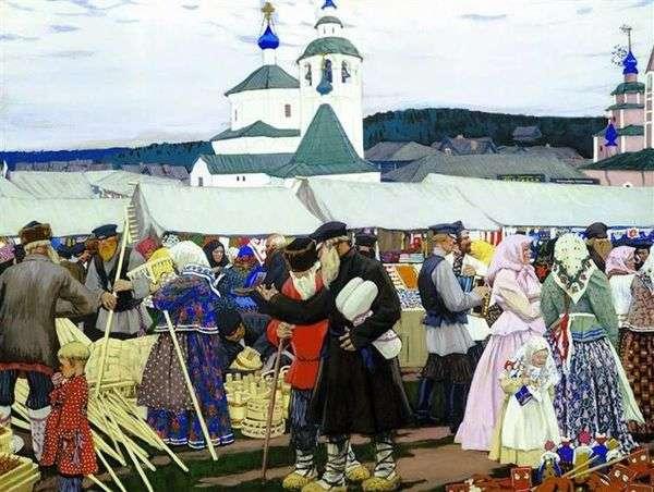 博览会   Boris Kustodiev