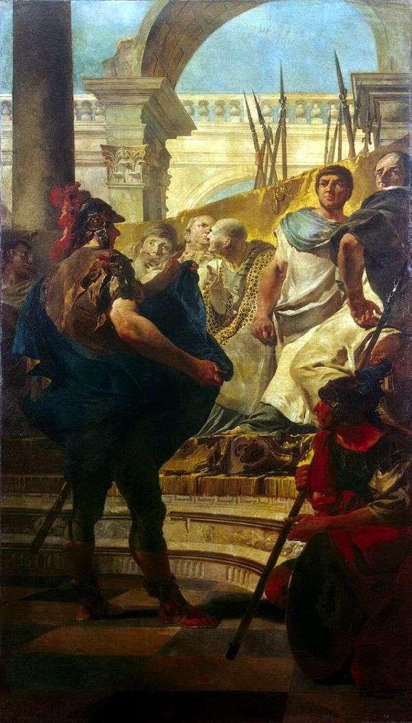 Quintus Fabius Maxim在迦太基参议院   Giovanni Battista Tiepolo