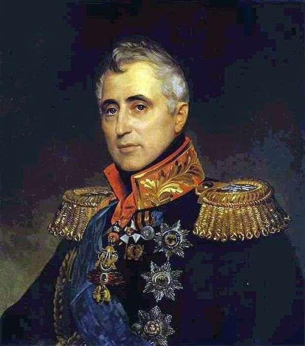K. A. Pozzo di Borgo的肖像   Karl Bryullov