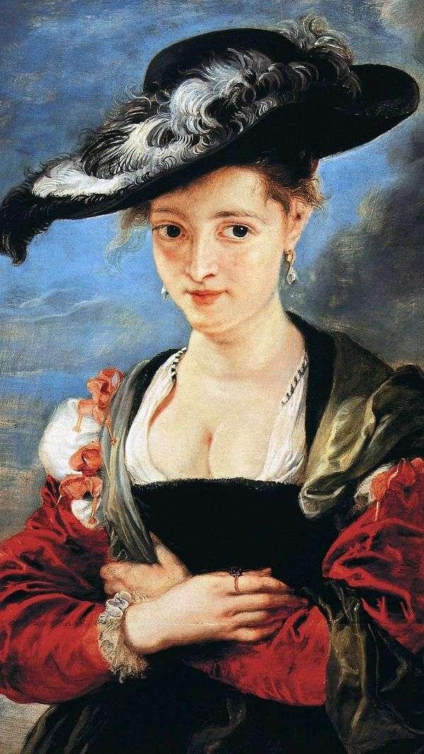草帽女士   彼得鲁本斯