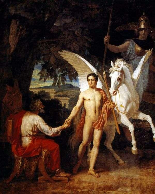 Bellerophon参加反对奇美拉的运动   亚历山大伊万诺夫