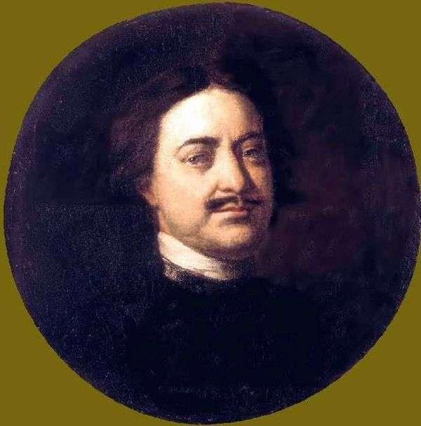 彼得一世的肖像   伊万尼基丁