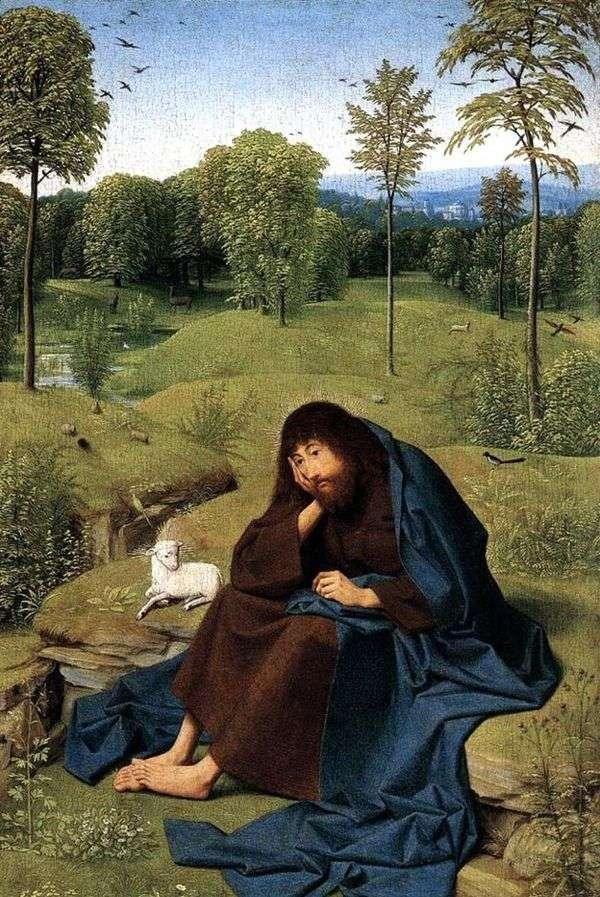 在旷野的圣约翰浸信会   Yans Sint认为Hertgen