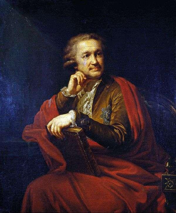 A. S斯特罗加诺夫的肖像   约翰浸信会兰皮