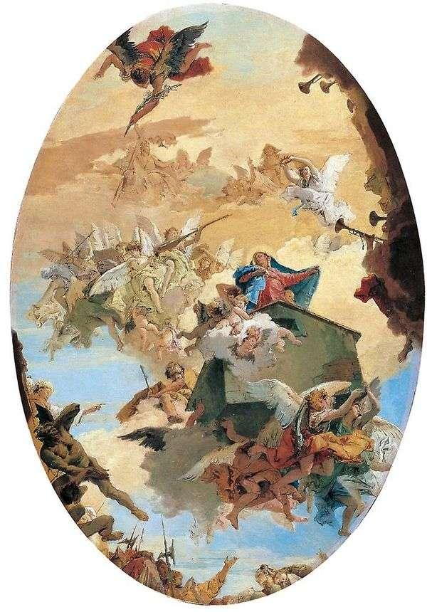 把玛利亚的房子从拿撒勒转移到洛雷托   蒂波洛