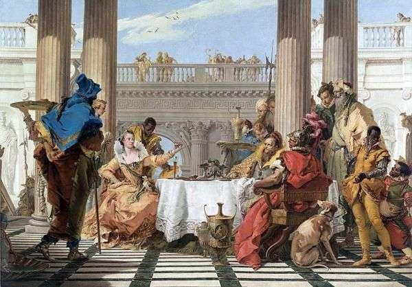 克利奥帕特拉的盛宴   Giovanni Battista Tiepolo