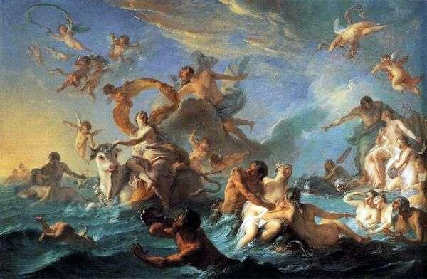 绑架欧洲   Giovanni Battista Tiepolo