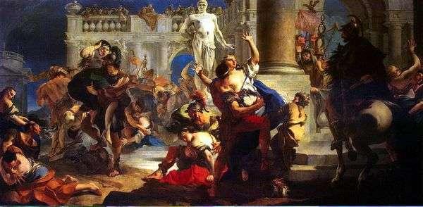 绑架萨宾妇女   Giovanni Battista Tiepolo