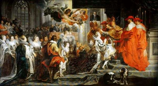 Maria Medici的加冕礼   彼得鲁本斯