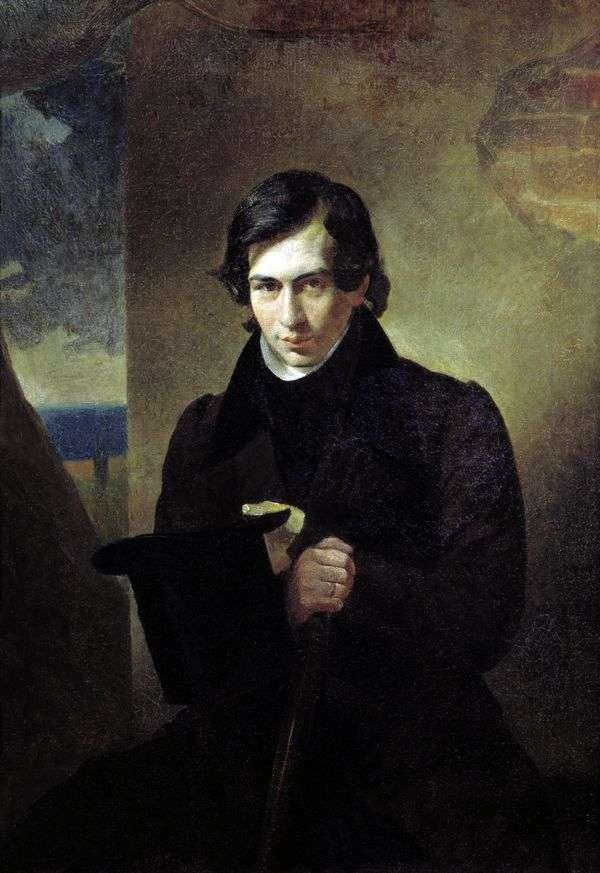 N. V. Kukolnik的肖像   Karl Bryullov