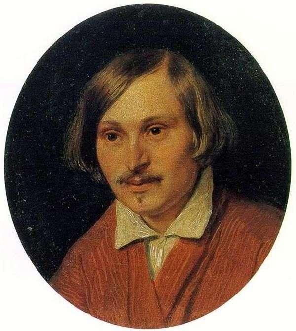 N. V. Gogol的肖像   亚历山大伊万诺夫