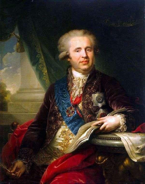 A. A. Bezborodko王子的肖像   约翰施洗约翰