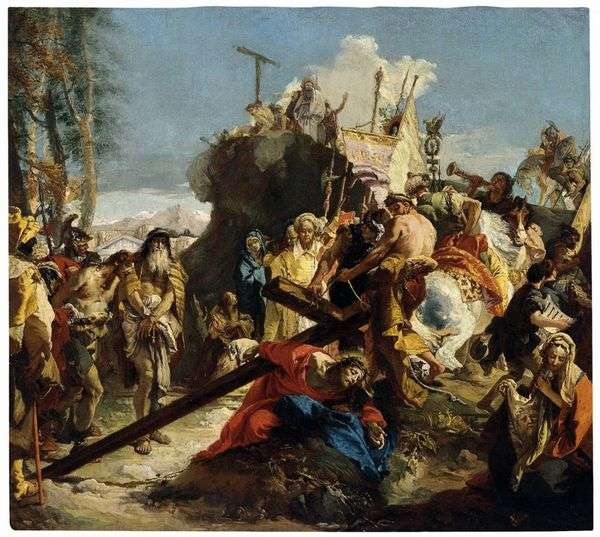 通往Cal髅地的路   Giovanni Battista Tiepolo