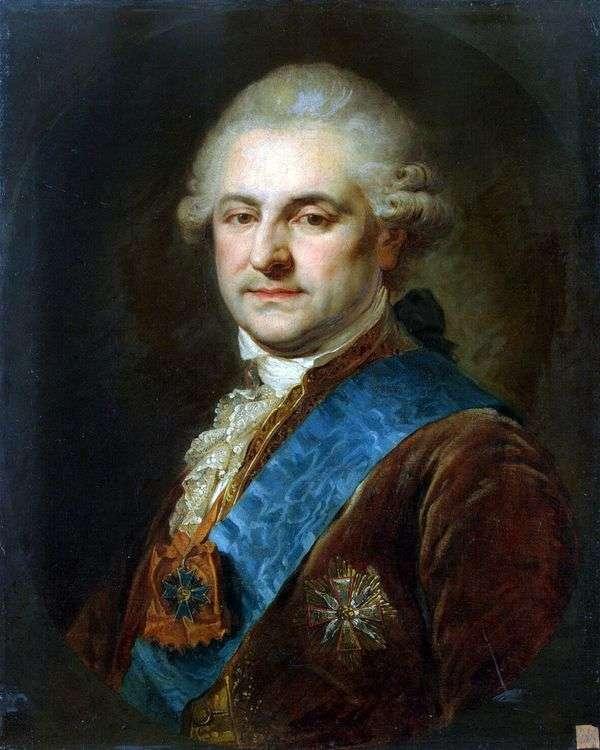 斯坦尼斯拉夫   奥古斯都 波尼亚托夫斯基的肖像   约翰 施洗约翰 兰皮