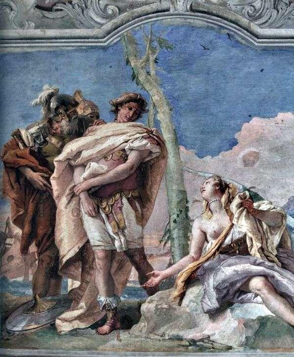 Rinaldo离开Armindu   Giovanni Battista Tiepolo