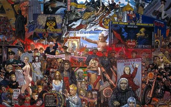 我们民主的市场   伊利亚格拉祖诺夫