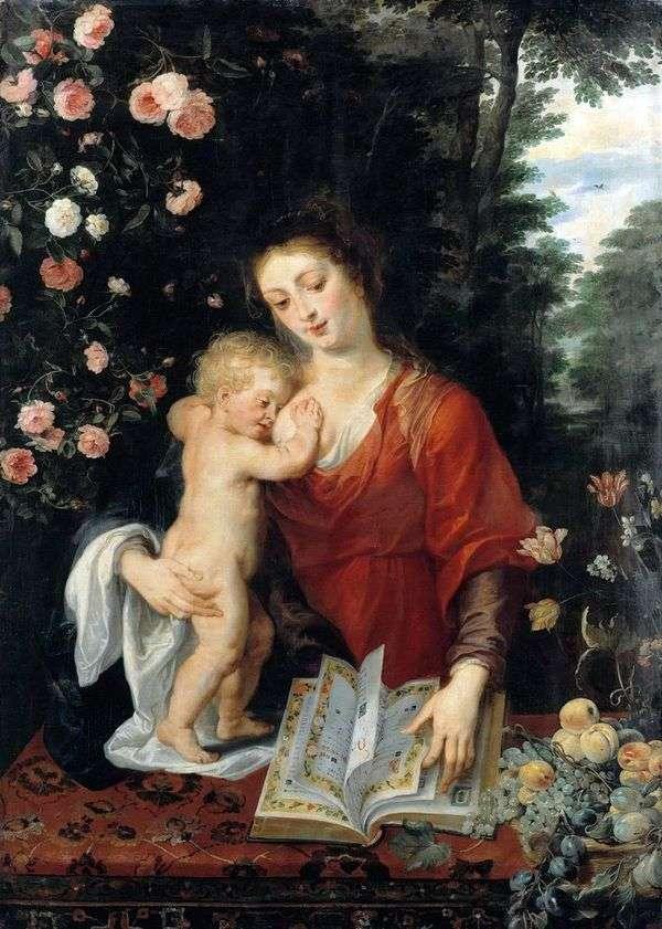 麦当娜和孩子   彼得鲁本斯