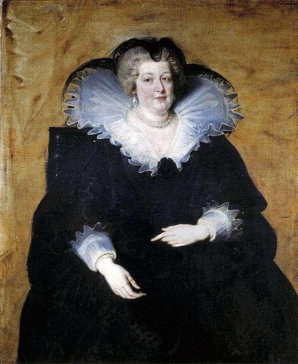 Maria Medici   法国女王   彼得鲁本斯