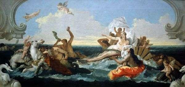 Amphitrite的胜利   Giovanni Battista Tiepolo