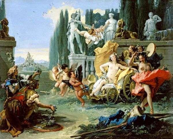 Flora的胜利   Giovanni Battista Tiepolo