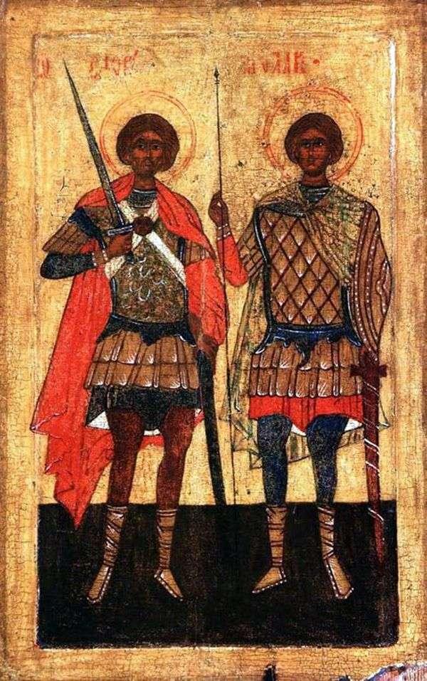 Saints Flor和Laurus作为战士