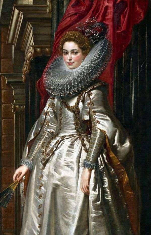 Marquis Brigitte Spinola Doria   Peter Rubens