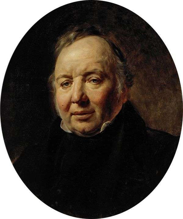 Francesco Ascani   卡尔布鲁洛夫的肖像