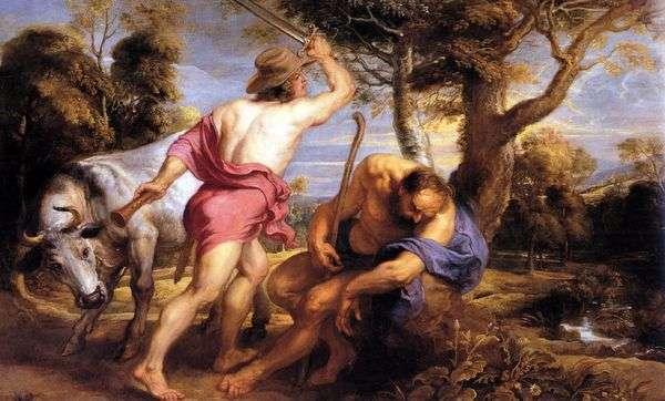 水星和阿古斯   彼得鲁本斯