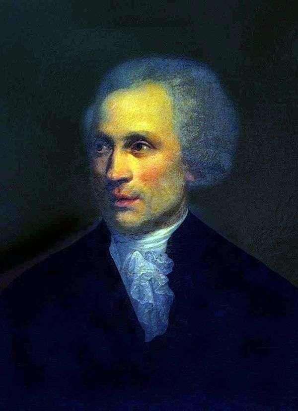 皇家科学院院长Baron A. L. Nikolai的肖像   Ivan Alekseevich Tyurin