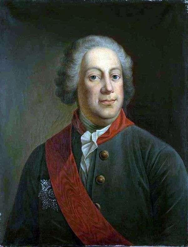 皇家科学院院长Baron I. A. Korf的肖像   Ivan Alekseevich Tyurin