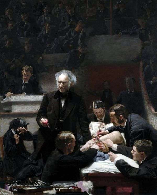 Gross Clinic   Thomas Eakins