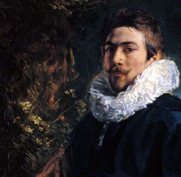 自画像   Jacob Jordaens