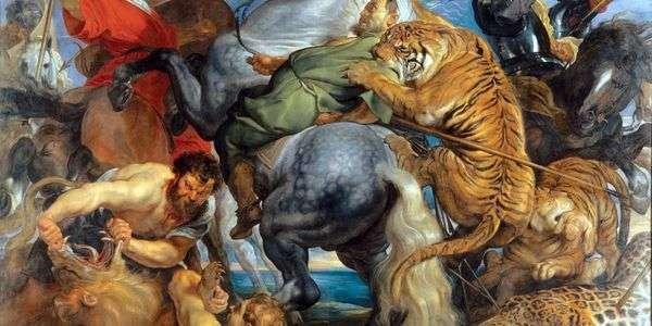 寻找老虎和狮子   彼得鲁本斯