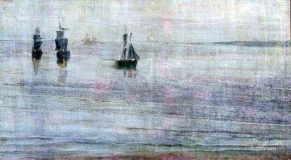 Nocturne:Le Solent   James Whistler