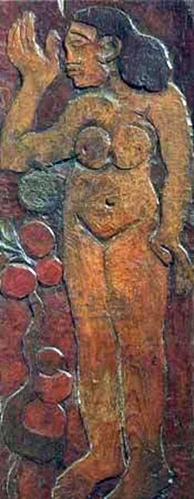 木雕   保罗高更