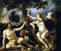 亚当和夏娃的诱惑   雅各布乔丹斯