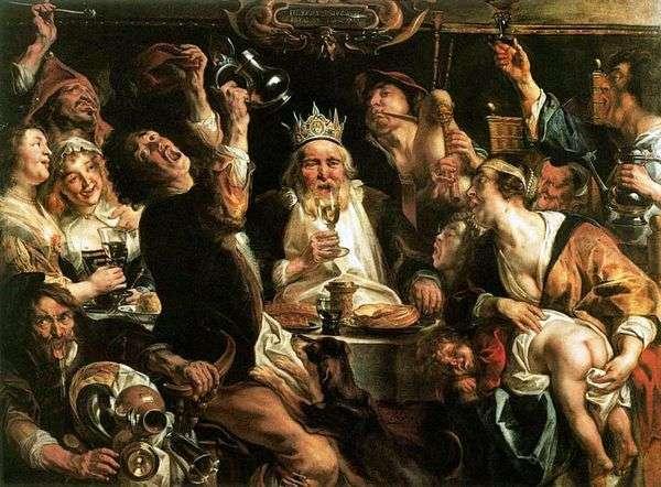 King Drinks   Jacob Jordaens