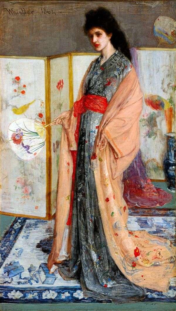 中国公主   詹姆斯惠斯勒