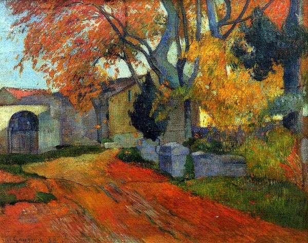 道路,Arly   Paul Gauguin