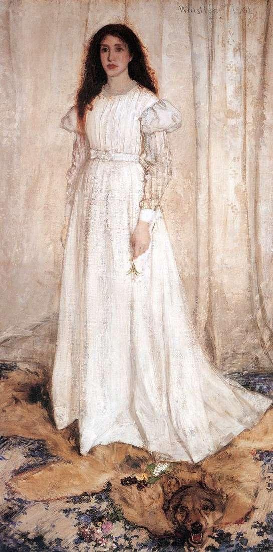 白色的交响曲:白衣女孩   詹姆斯惠斯勒