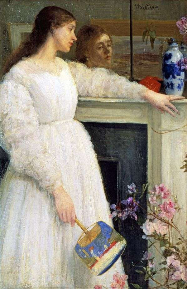 白衣2号:白衣女孩中的交响曲   詹姆斯惠斯勒