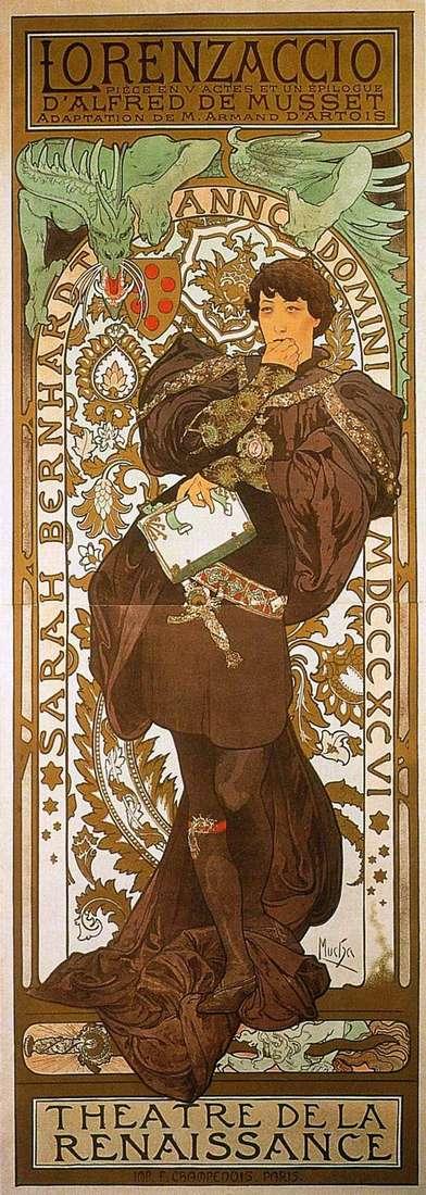 Lorenzaccio   Alphonse Mucha