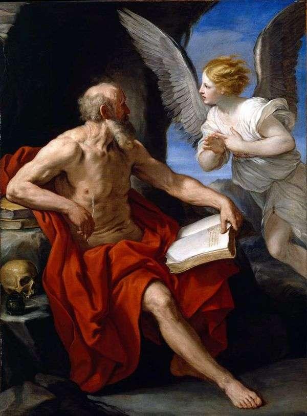 圣杰罗姆和天使   蕾妮吉多
