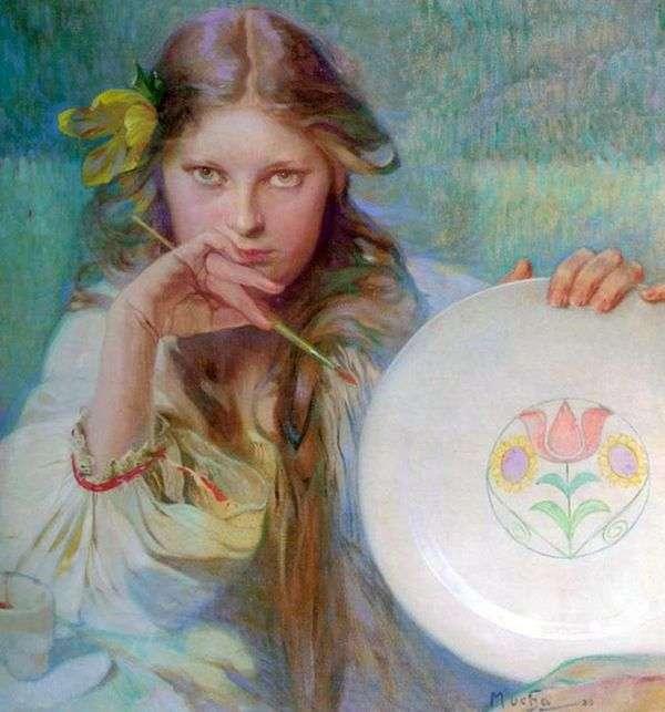 艺术家   Alphonse Mucha