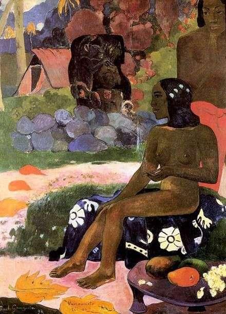 她的名字是Wahrumati   Paul Gauguin