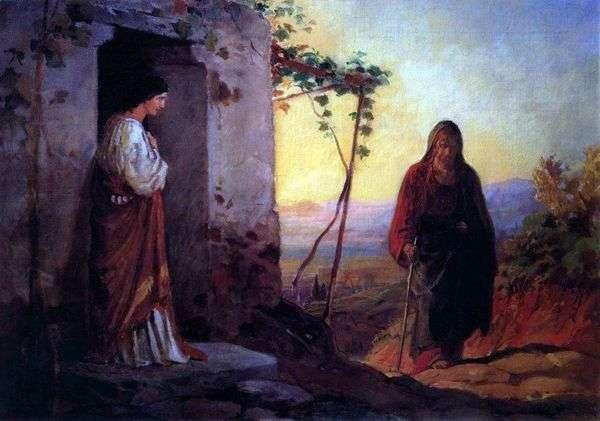 玛利亚,拉撒路的妹妹,遇见耶稣基督,来到他们家   尼古拉歌