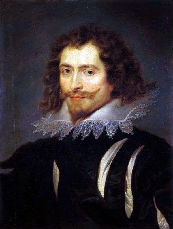 白金汉公爵的肖像   彼得鲁本斯